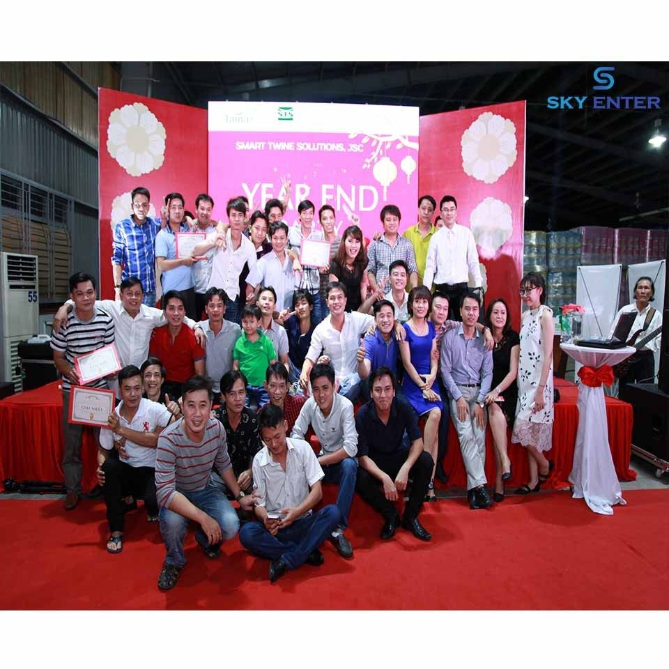 Tổ chức sự kiện Year End Party Tama Group & STS